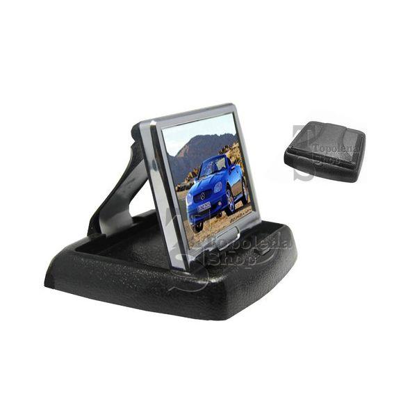 Monitor LCD TFT 3,5'' a colori auto camper telecamera retromarcia a scomparsa  eBay
